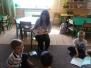 Ines Augustyńska czyta Muchomorkom