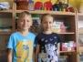 Jaś i Gabrysia z wizytą u Muchomorków