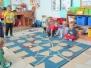 Jeżyki poznają figury geometryczne: koło i trójkąt