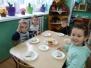 Jeżyki przygotowują śniadanie