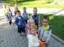 Pierwszy spacer Maluszków