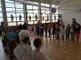 Przedszkolaki - starszaki na balu karnawałowym w Szkole nr 3