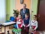 Przedszkolaki z życzeniami świątecznymi w urzędach
