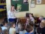 Żabki - mama Przemka czyta nam bajki