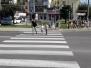 Żabki poznają zasady ruchu drogowego