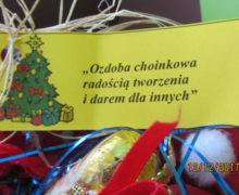 """""""Ozdoba choinkowa radością tworzenia i darem dla innych"""""""