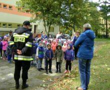 Próbna ewakuacja w przedszkolu