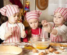 Z dzieckiem w kuchni